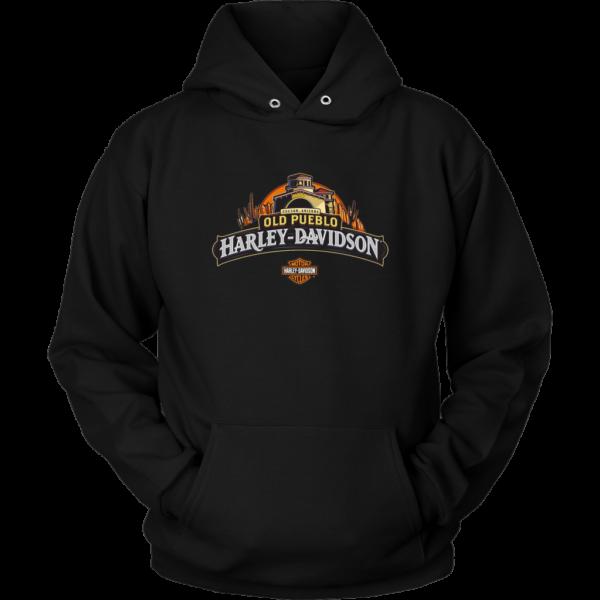Old Pueblo Harley Davidson Unisex Hoodie