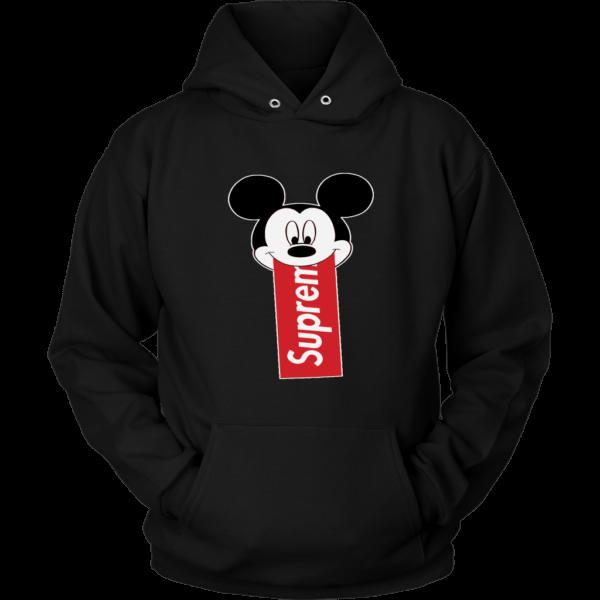 Supreme Mickey Mouse Disney Unisex Hoodie