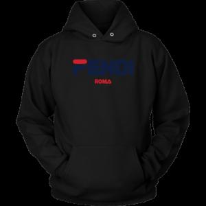 Fendi Logo Unisex Hoodie