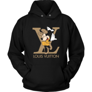 Minnie Mouse Louis Vuitton Edition Unisex Hoodie