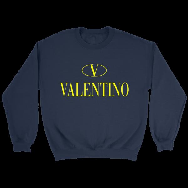 Valentino Logo Gold Premium Edition Crewneck Sweatshirt