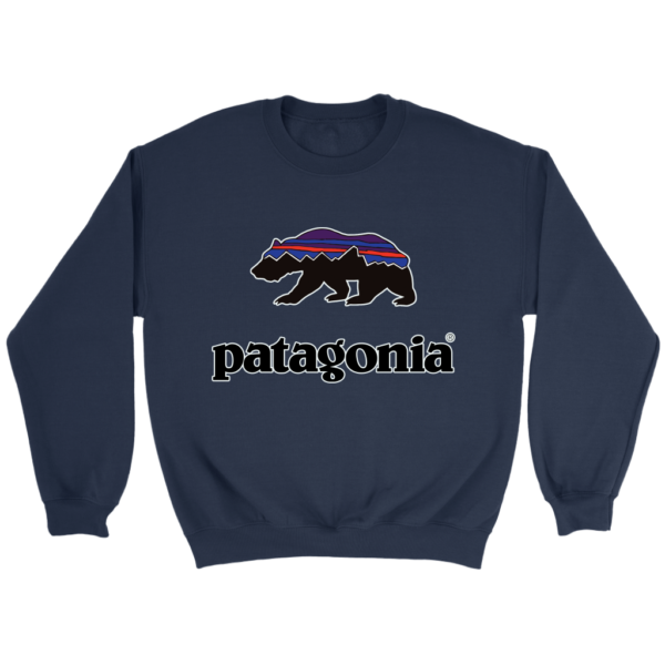 Patagonia Fitz Roy Bear Crewneck Sweatshirt