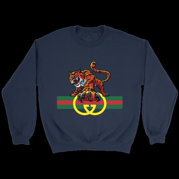 Tiger Gucci Logo Crewneck Sweatshirt