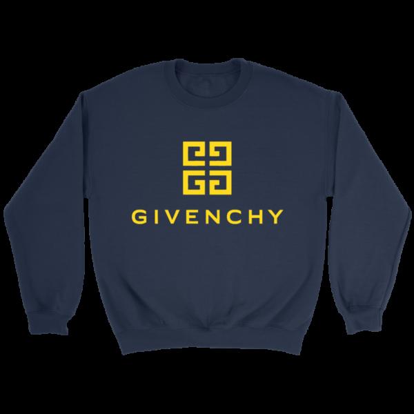Givenchy Gold Logo Premium Crewneck Sweatshirt
