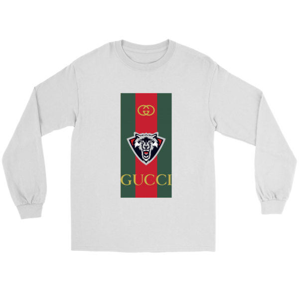 Gucci Wolf Printed Logo Limited Edition Long Sleeve Tee