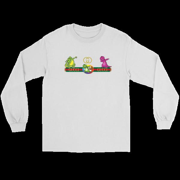 Dabbing Gucci Dinosaur Dance Long Sleeve Tee