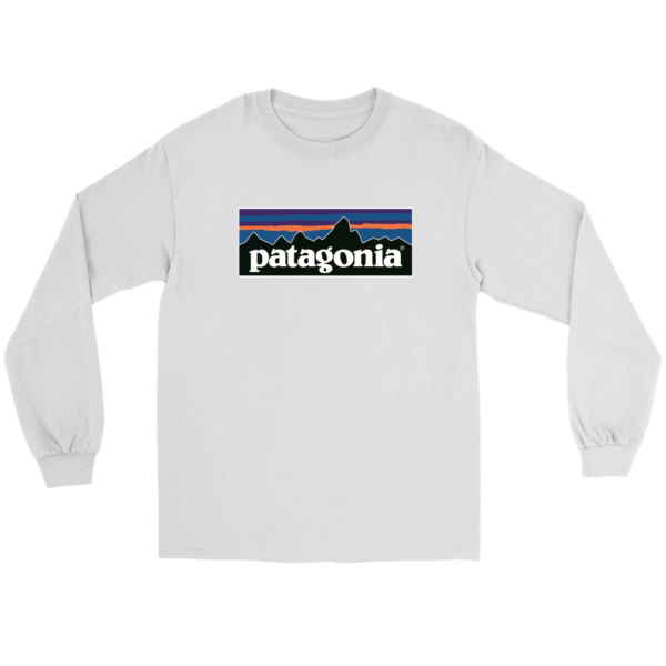 Patagonia Logo Long Sleeve Tee