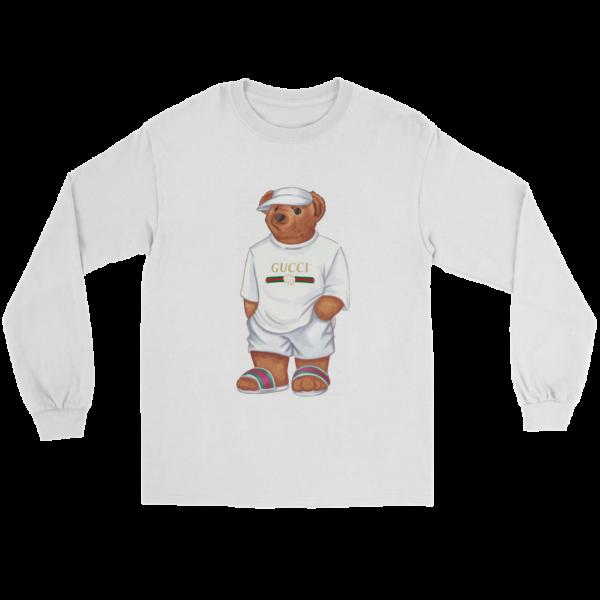 LIFE'S GUCCI BEAR Long Sleeve Tee