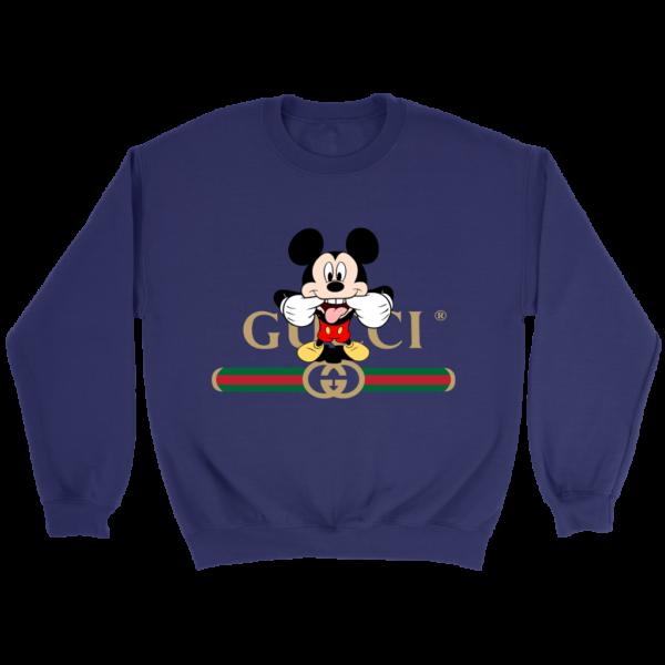 Gucci Logo Mickey Mouse Clubhouse Disney Crewneck Sweatshirt