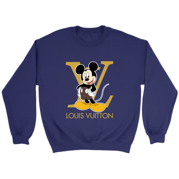 Louis Vuitton Mickey Mouse Crewneck Sweatshirt