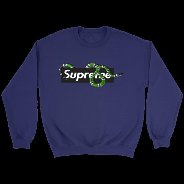 Supreme Snake Logo Limited Edition Crewneck Sweatshirt