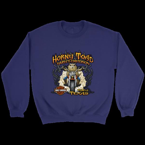 Horny Toad Harley Davidson Crewneck Sweatshirt