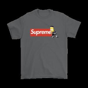 Bart Simpson Supreme Mens T-Shirt