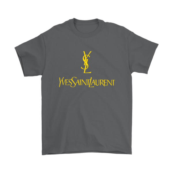 YSL Yves Saint Laurent Logo Mens T-Shirt