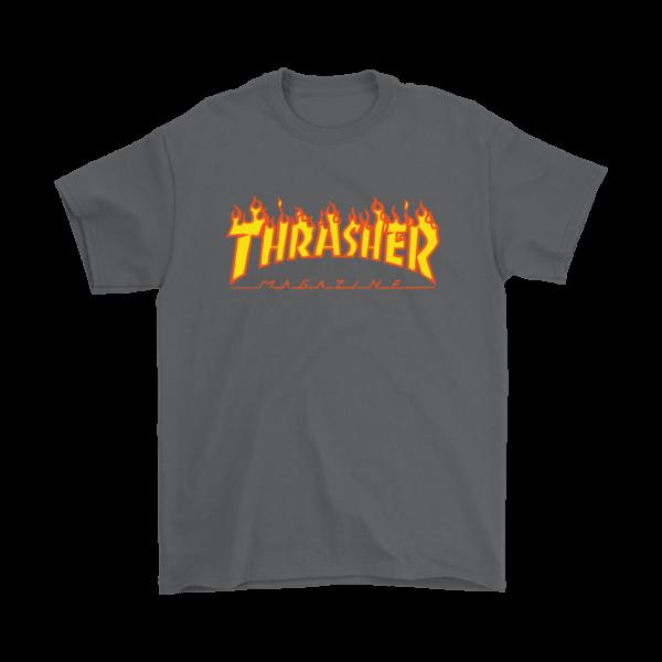Thrasher Flame Logo Mens T-Shirt