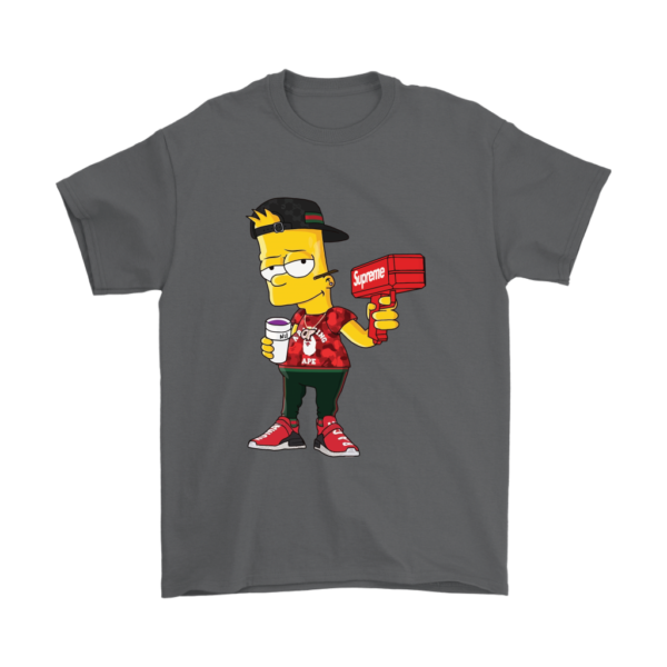 Bart Simpson Gucci Limited Edition Mens T-Shirt