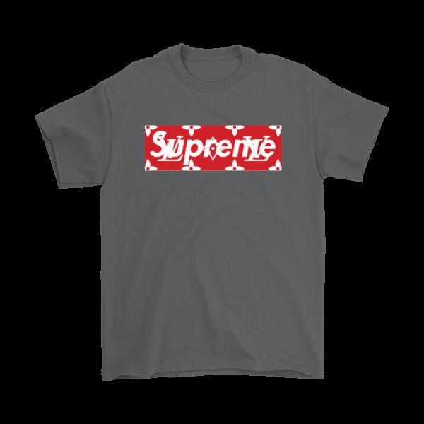 Supreme x Louis Vuitton Logo Mens T-Shirt