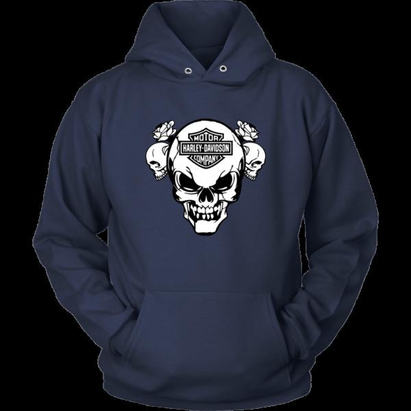 Harley Davidson Skull Unisex Hoodie