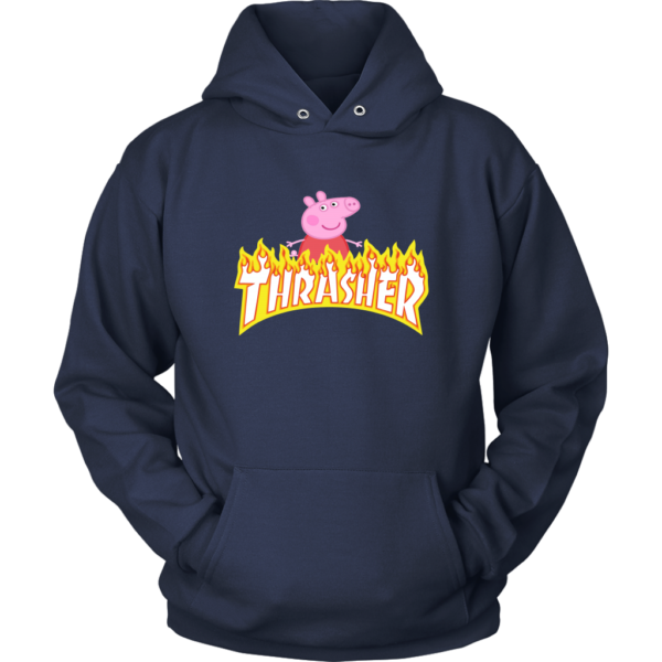Peppa Pig Thrasher Premium Unisex Hoodie