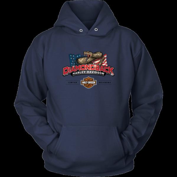 Harley Davidson Logo Premium Unisex Hoodie