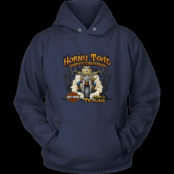 Horny Toad Harley Davidson Unisex Hoodie