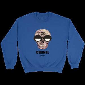 Chanel Skull Logo Crewneck Sweatshirt