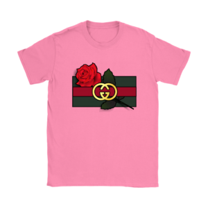 Gucci Rose Printed Womens T-Shirt