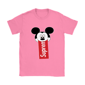 Supreme Mickey Mouse Disney Womens T-Shirt