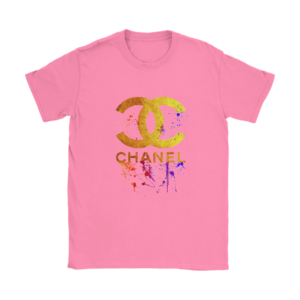CoCo Chanel Gold Logo Limited Edition Womens T-Shirt