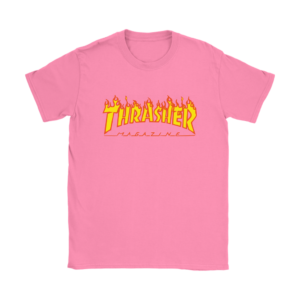 Thrasher Flame Logo Womens T-Shirt