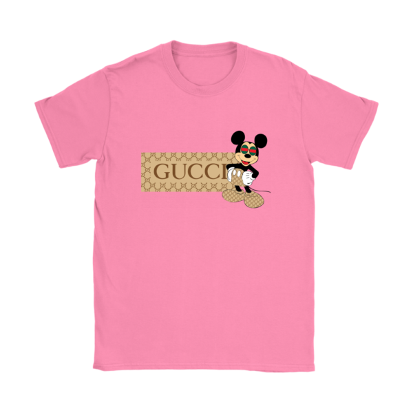 Gucci Mickey Mouse Premium Womens T-Shirt
