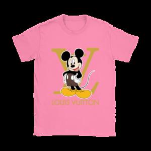 Louis Vuitton Mickey Mouse Womens T-Shirt