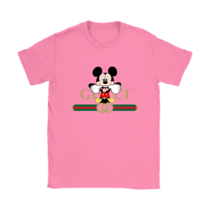Gucci Logo Mickey Mouse Clubhouse Disney Womens T-Shirt