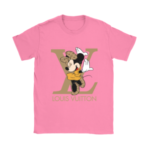 Minnie Mouse Louis Vuitton Edition Womens T-Shirt