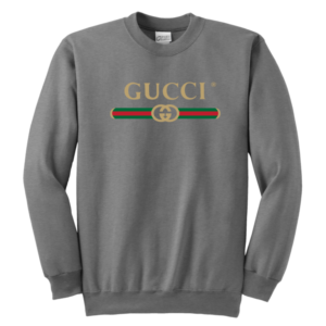 Gucci Logo 2021 Premium Youth Crewneck Sweatshirt