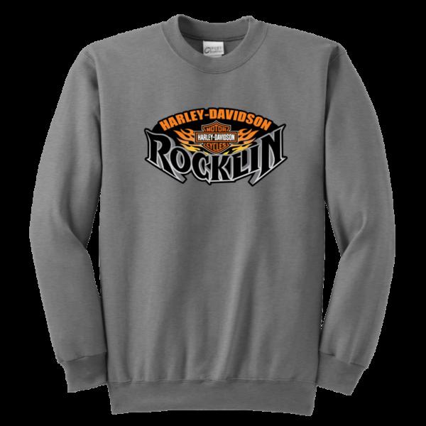 Harley Davidson Of Rocklin Youth Crewneck Sweatshirt