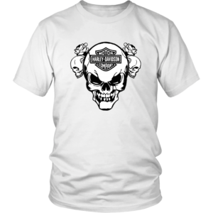 Harley Davidson Skull Unisex Shirt