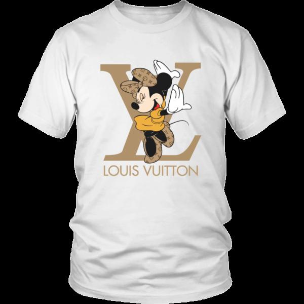 Minnie Mouse Louis Vuitton Edition Unisex Shirt
