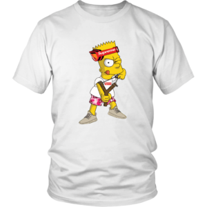 Bart Simpson Gucci Supreme Unisex Shirt
