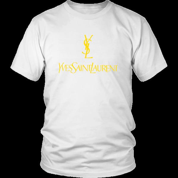YSL Yves Saint Laurent Logo Unisex Shirt