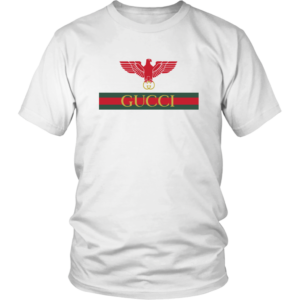 Gucci Red Eagle Bird Unisex Shirt