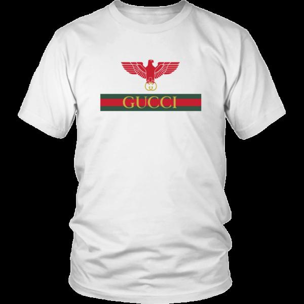 Gucci Red Eagle Bird Unisex Shirt