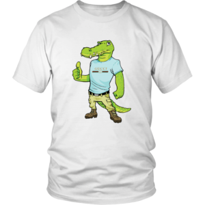 Crocodile Gucci Alligator Printed Unisex Shirt