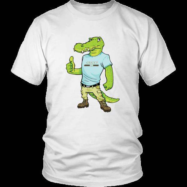 Crocodile Gucci Alligator Printed Unisex Shirt