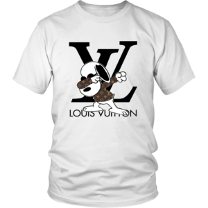 Snoopy Louis Vuitton Logo Unisex Shirt