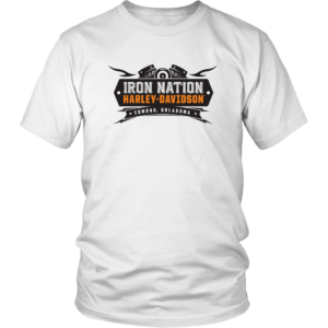Iron Nation Harley Davidson Logo Unisex Shirt