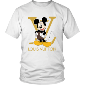 Louis Vuitton Mickey Mouse Unisex Shirt