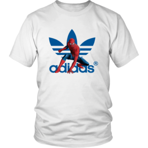 Spiderman Adidas Marvel Logo Unisex Shirt