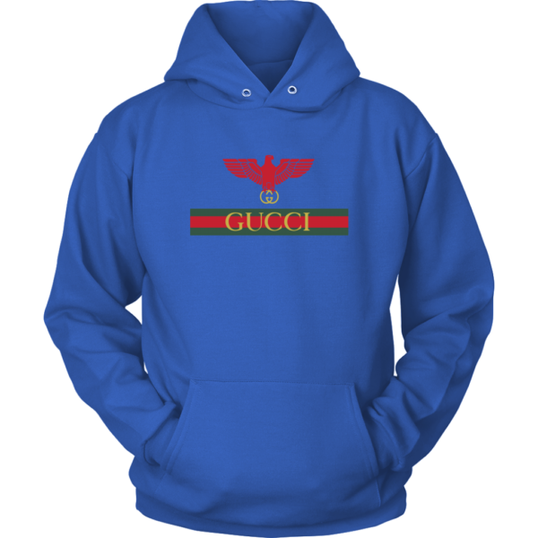 Gucci Red Eagle Bird Unisex Hoodie