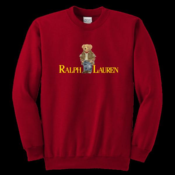 Ralph Lauren Bear Youth Crewneck Sweatshirt